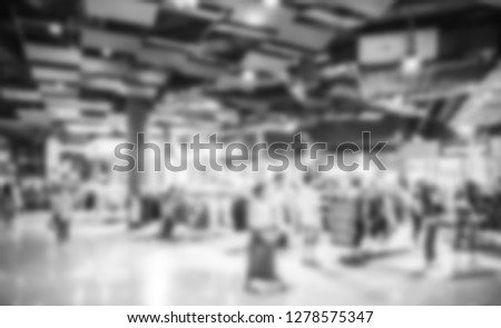 peoples shopping