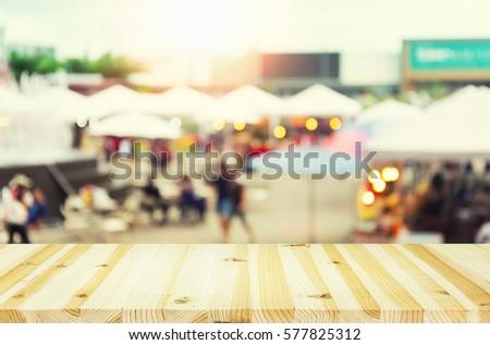 blurred photo of food...