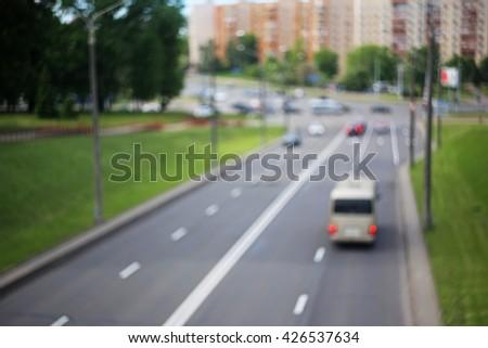 Blurred road background #426537634