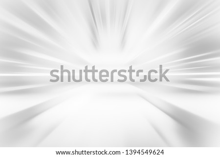 BLURRED SPEED LIGHT BACKGROUND, SILVER RAYS PATTERN, COLD WHITE DESIGN