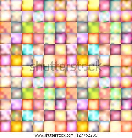 blurred squares abstract background illustration