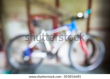 Blurry Bicycle ,Blurry Backgrounds