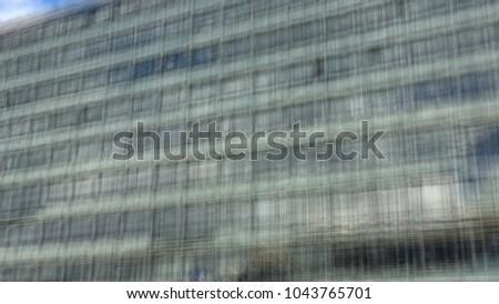 blurry building facade detail