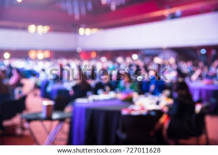 Blurry Event Pictures, Crowd Light, Ceiling Light