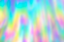 Blurry holographic disco streaks texture background