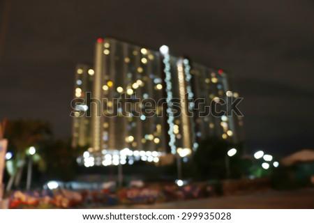 blurry light condominium,blurry background