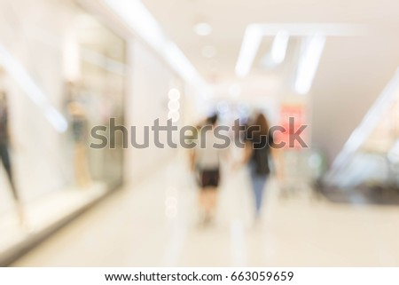 Blurry photos in the mall. For background design #663059659