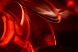 Blurry reddish pattern unique background photo