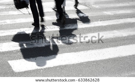 blurry shadow and silhouette of ...