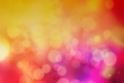 Blurry vivid multicolor Defocused abstract light bokeh