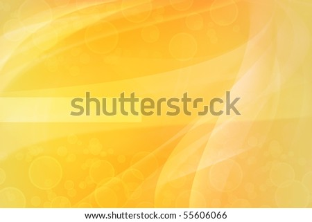 Blurs on abstract yellow tone background