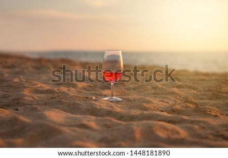 Blush wine. People love wine and drink. #1448181890