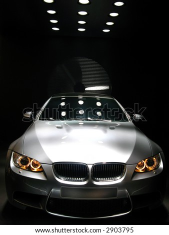 BMW M3 concept car at Geneva Auto-Show 2007