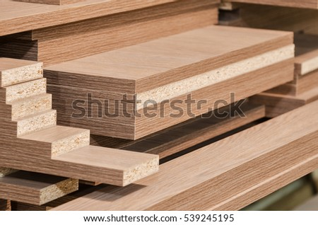 board chipboard cut parts
