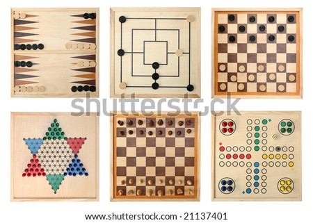 Board games - Backgammon, Nine Men\'s Morris,Draughts(checkers), Halma,Chess,Do not get angry