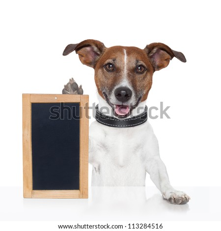 board placeholder banner dog wood