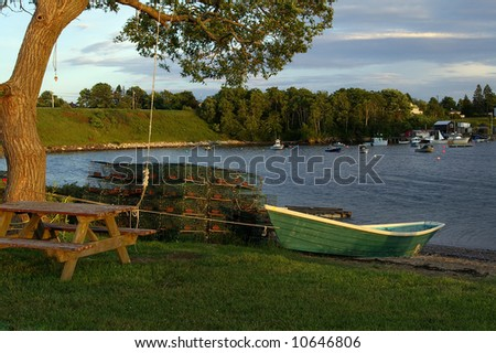 Boat and fishing equipment