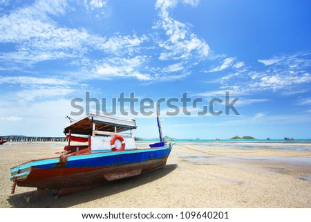 boat and sea