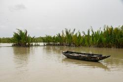 boat at gangasagar, sagar island
