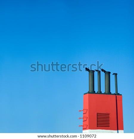 Boat chimney
