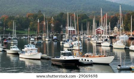 boat harbor in camden maine