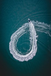 Boat loop from above