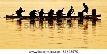 Boat Regatta Silhouette