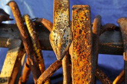 Boat rusty details