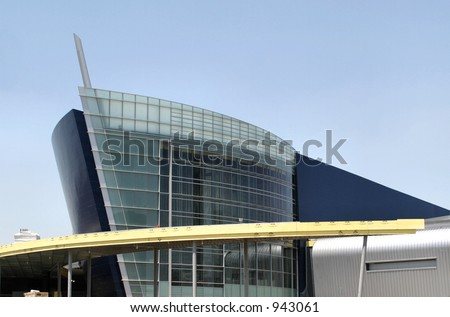 Boat shaped building in Atlanta