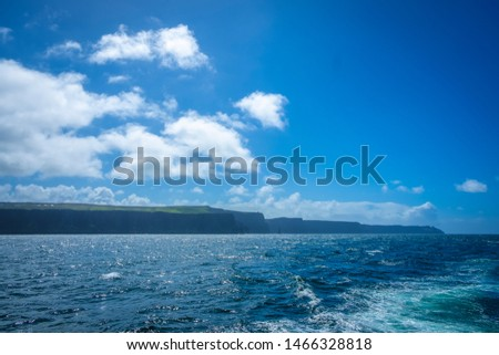 Boat trip to the spectacular Cliffs of Moher, Co Clare, Ireland #1466328818