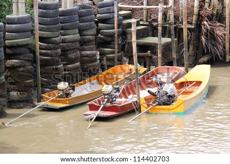 boats over the river