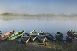 Boats. Ukraine