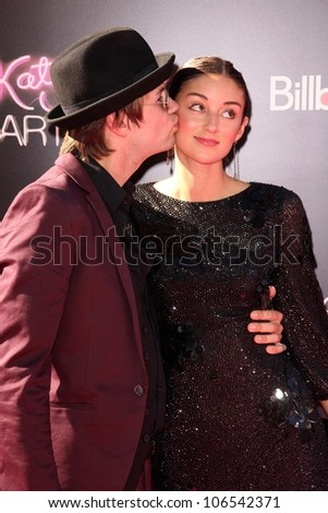 "Bobby Alt, Caroline D'Amore at the ""Katy Perry: Part of Me"" Los Angeles Premiere, Chinese Theater, Hollywood, CA 06-26-12"