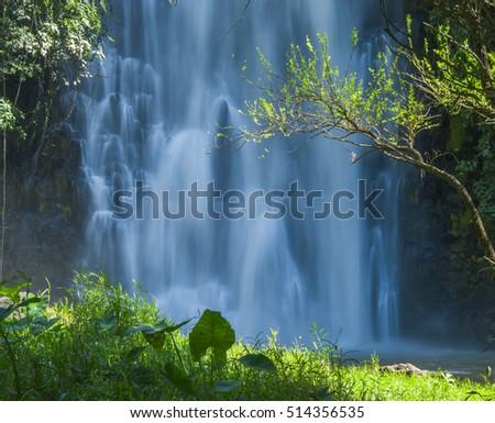 Bobla waterfall in Lamdong, Vietnam #514356535