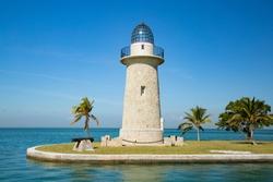 Boca Chita Key lighthouse in Florida's Biscayne National Park