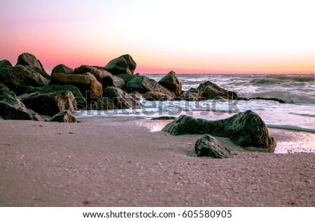 Boca Ciega Bay - Sunset Beach - Treasure Island, FL - Sunset on the Beach