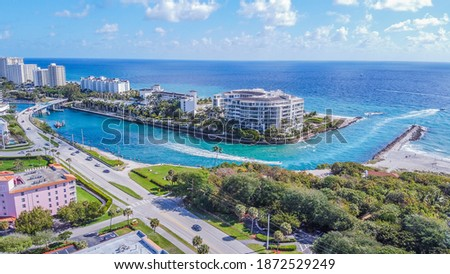 Boca Raton Down in Sunny South Florida Foto stock ©