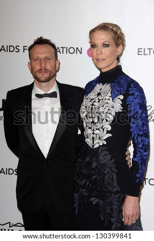 Bodhi Elfman Jenna Elfman At The Elton John Aids Foundation 21st