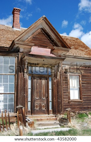 Bodie, California - ghost town -store