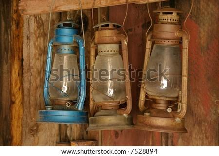Bodie Ghost Town lanterns