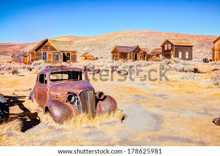 bodie is a ghost town in the...