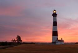 Bodie Lighthouse at Sunrise - North Carolina