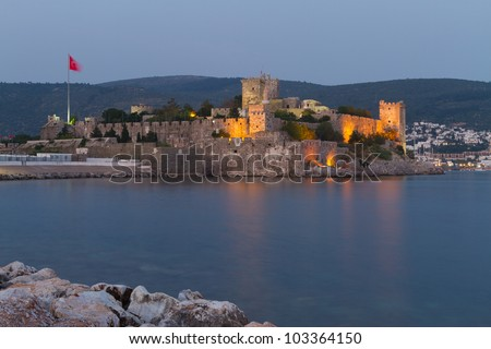 Bodrum Castle from Mugla, Turkey