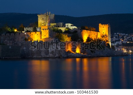 Bodrum Castle from Mugla, Turkey