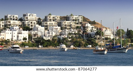 Bodrum with ships - Bodrum - Turkey