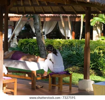 Body massage #7327591