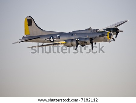 Boeing B-17 on display at Aviation Nation 2007.