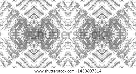 Bohemian print. Seamless african pattern. Fashion zigzag illustration. Graphic line art. Natural tribal ornament. White, grey bohemian print.