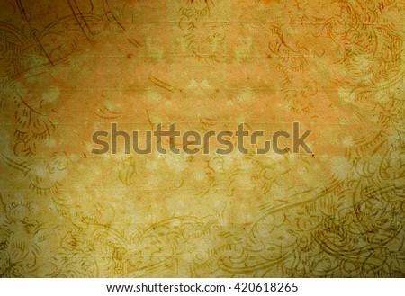 Bohemian Vintage Retro Blank Texture Background