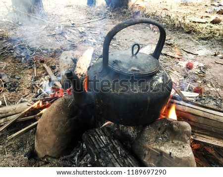 Boil water using a Kettle